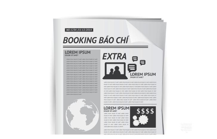 booking báo chí