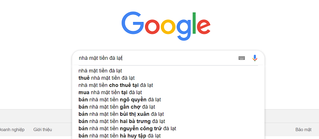 ử dụng Google Suggest hiệu quả