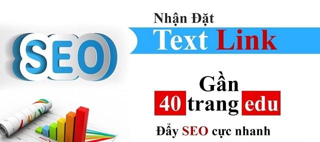 Mua Textlink từ những nhà cung cấp uy tín
