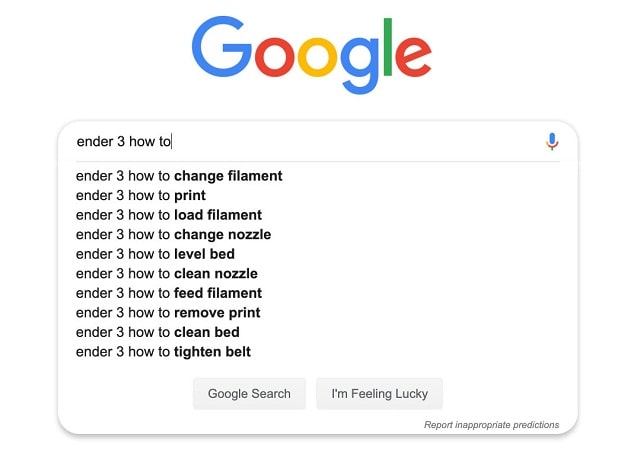 Lợi ích của Google Suggest