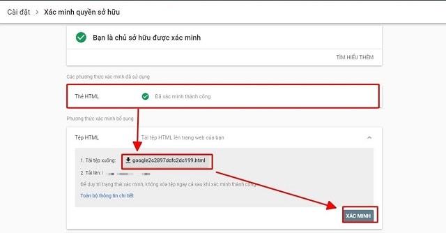 cách cài Google Webmaster Tool
