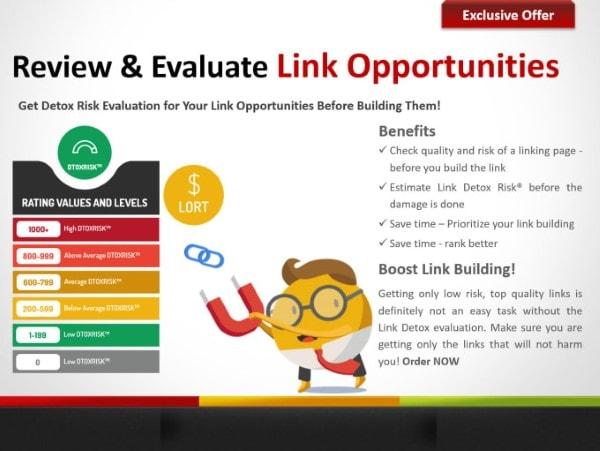 Lựa chọn những link Opportunities đáng đầu tư.