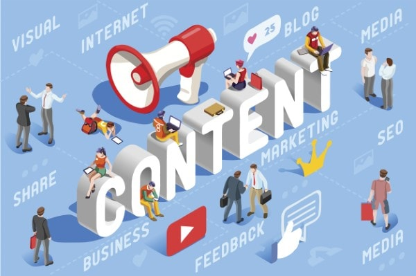 Tạo content và landing page