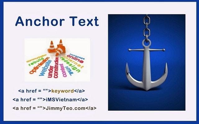 Sử dụng các từ Anchor có sự liên quan