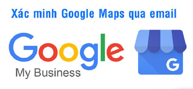 Xác minh Google Map bằng email