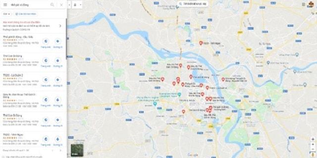 Xác minh Google Map hàng loạt