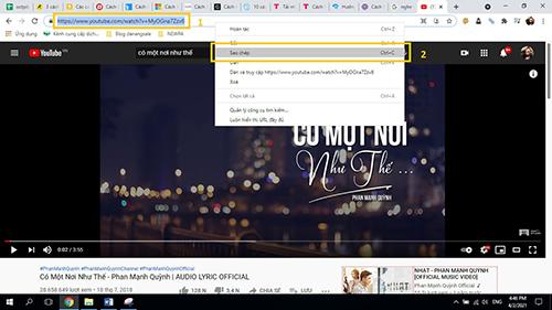 cách tải nhạc về máy tính trên youtube