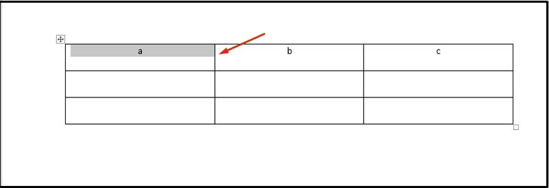 cách thay đổi kích thước ô bảng trong word