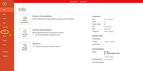 cách tạo file pdf từ power point