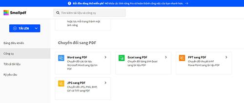 cách tạo file pdf online