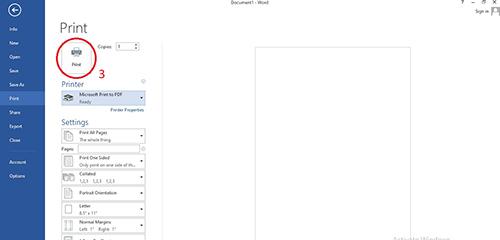 tạo file pdf từ word 2013
