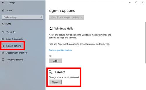 cách xoá mật khẩu máy tính đăng nhập tài khoản microsoft
