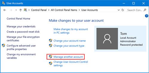 xoá mật khẩu máy tính đơn giản