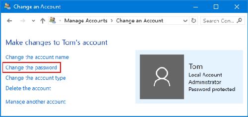 tắt mật khẩu máy tính