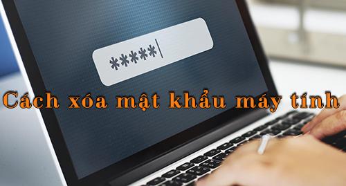 cách xoá mật khẩu máy tính