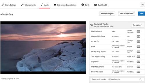 ghép nhạc vào video online đơn giản