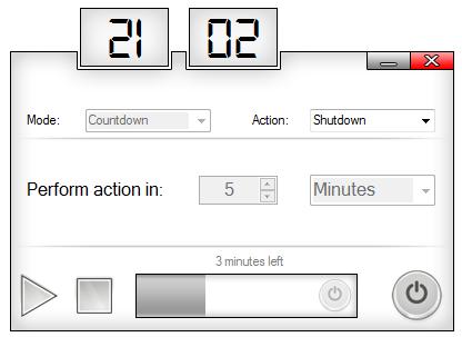 hẹn giờ tắt máy bằng phần mềm sleep timer