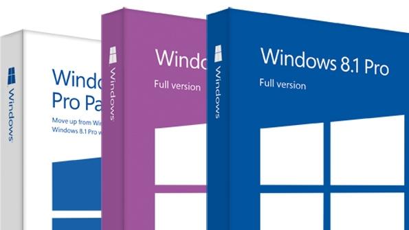cấu hình cài đặt windows 8.1