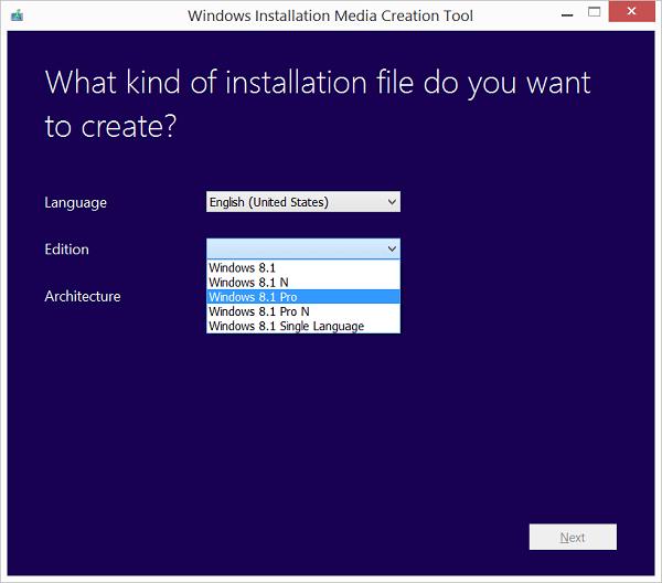 tải windows 8.1