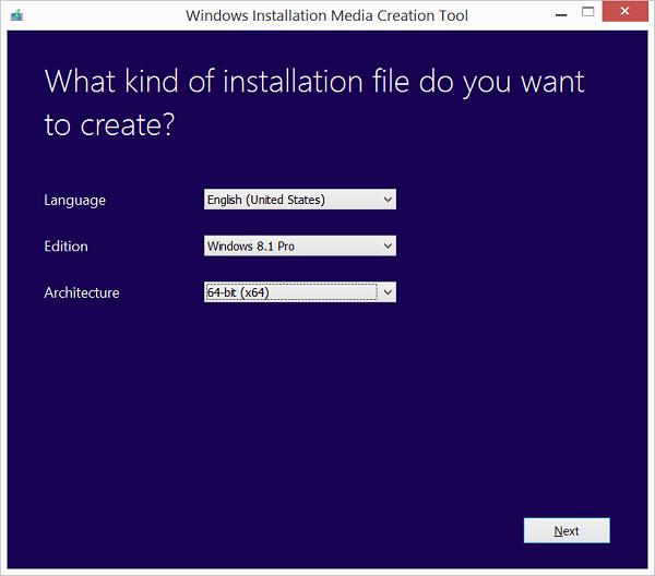file ISO windows 8.1