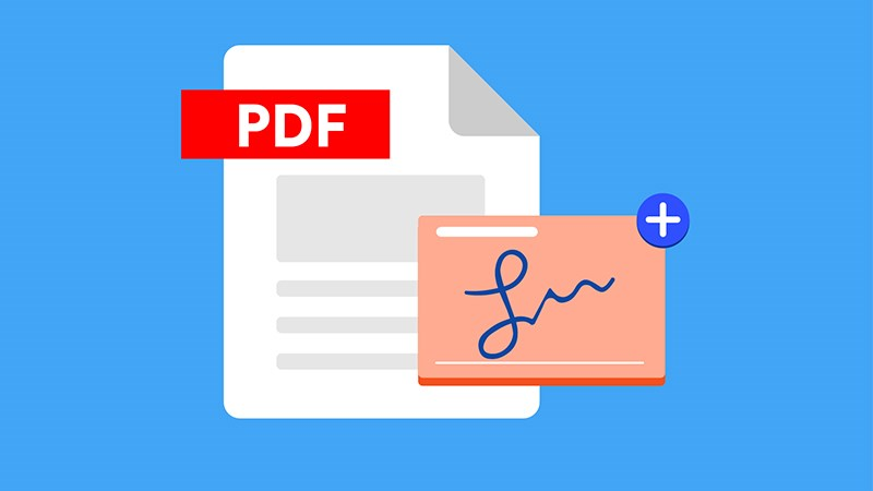 mã hoá và ký pdf với foxit reader