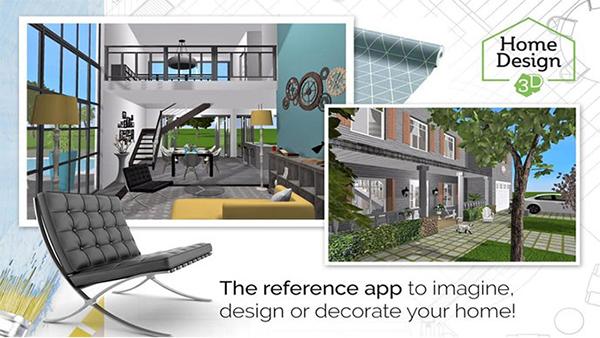 phần mềm thiết kế 3D miễn phí Home Design