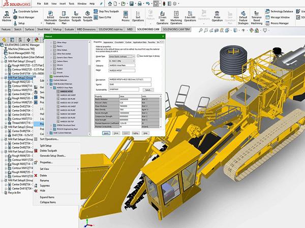 phần mềm thiết kế 3D Solidwork