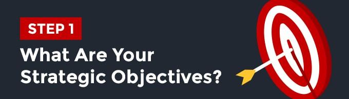 bước 2 Xác định được mục tiêu chiến lược trong câu hỏi seo audit là gì