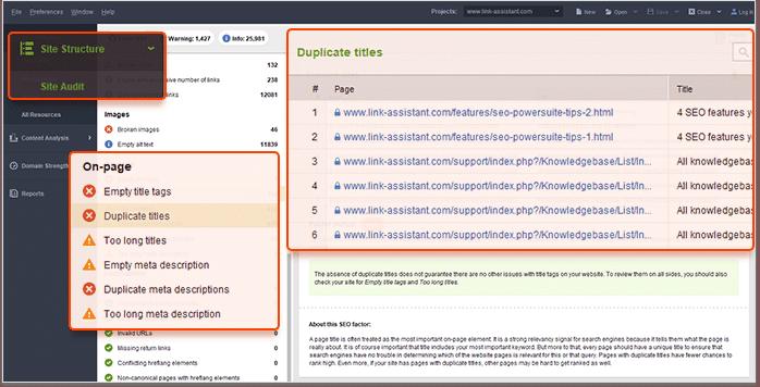 Cần xóa hoặc Redirect trang web có keyword Cannibalization