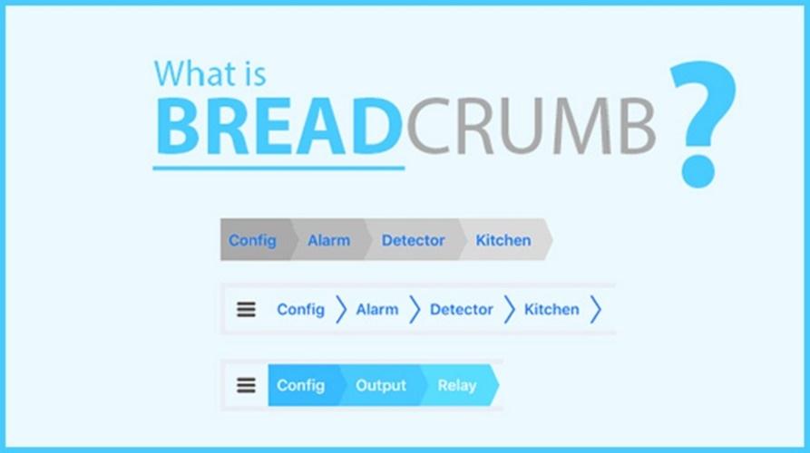 Breadcrumbs là gì