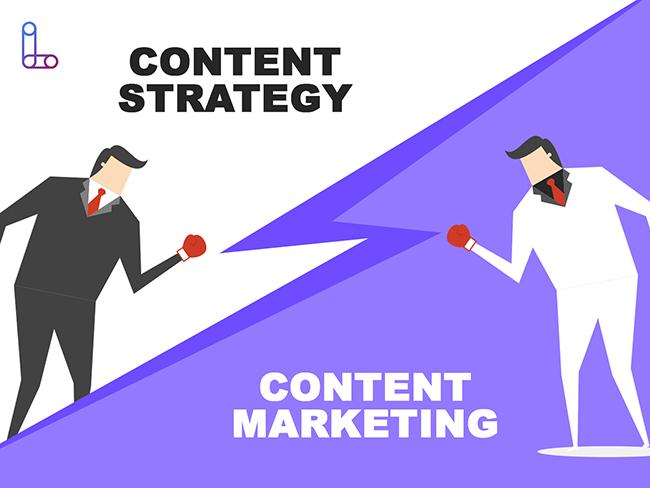 Điểm khác nhau giữa Content Strategy và Content Marketing