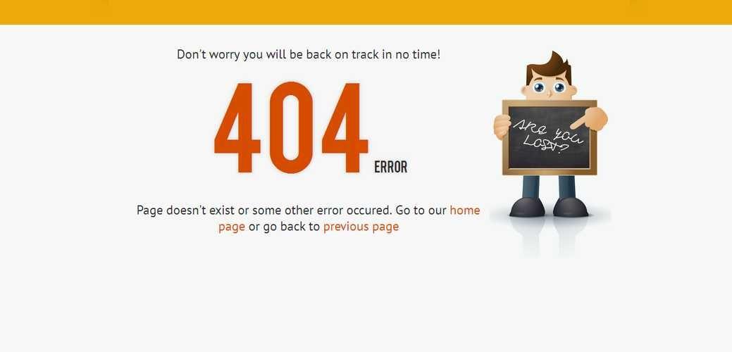 Cách khắc phục lỗi 404 error hiệu quả