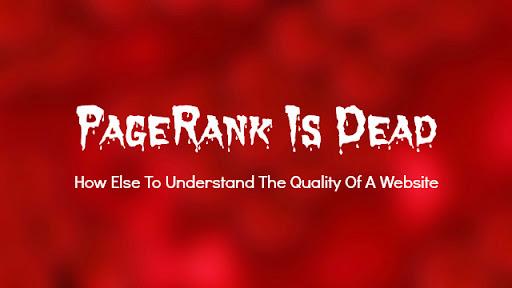 nguyên nhân Google PageRank bị bỏ công khai